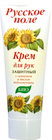 Статьи о товаре кр. д/р защитный с силиконом и маслом подсолнеЧника 75 мл русское поле - 4607042070075.
