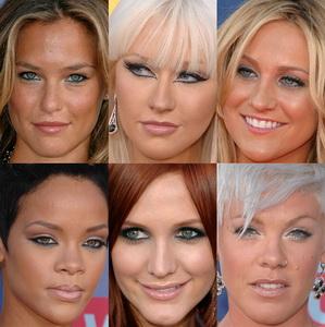 Макияж для серо-голубых глаз фото.