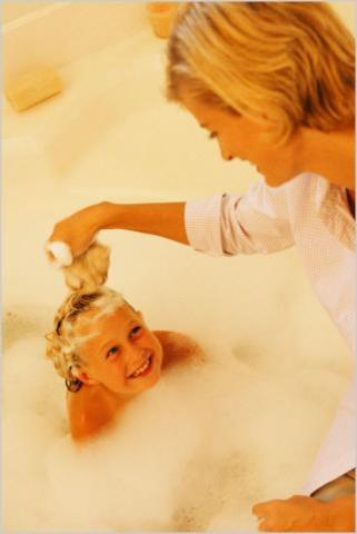 Мыло в 90% случаев вызывает детскую аллергию